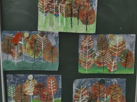 Herbstwald 3. Klasse
