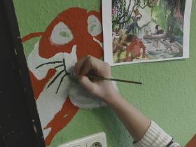Klassenzimmergestaltung Dschungelbuch